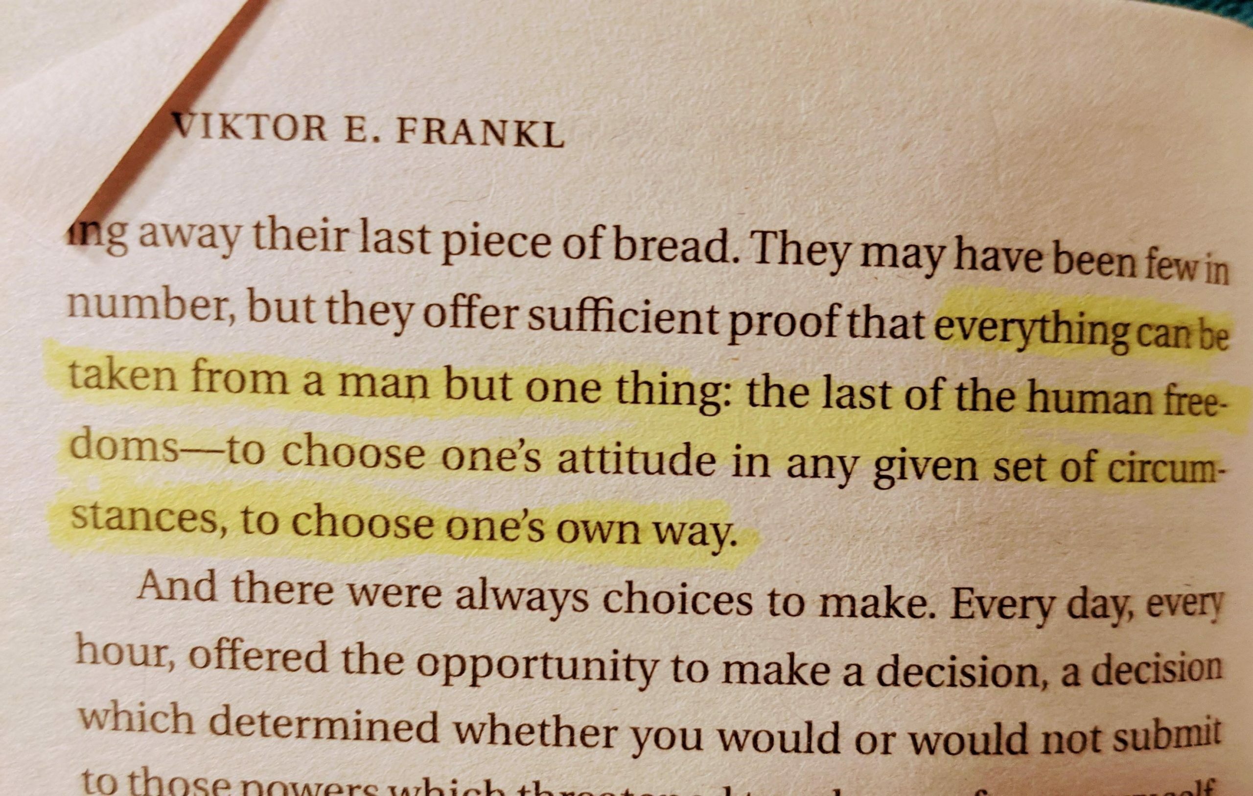 Finding Inspiration with Viktor Frankl